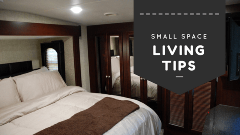 Small Space Living - Organization Is A Must