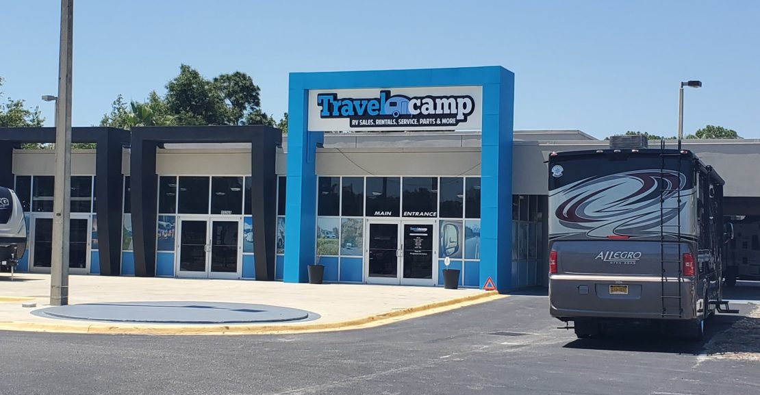 Travelcamp RV the Opening of Two New Locations in Florida & Georgia